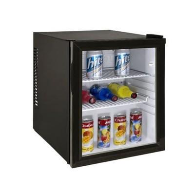 Холодильный шкаф GASTRORAG CBCW-35B, витринного типа, 35л, No Frost, подсветка, чёрный