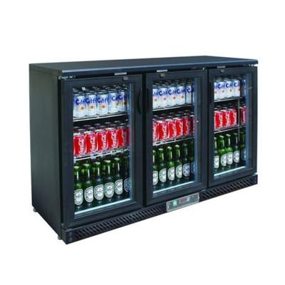 Холодильный шкаф Gastrorag SC316G.A, витринного типа, +2 до +8°С, 320 л, черный