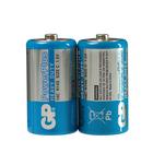 Батарейка солевая GP PowerPlus Heavy Duty, C, R14-2S, 1.5В, спайка, 2 шт.