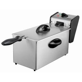 Фритюрница GASTRORAG CZG40X, электрическая, 2000 Вт, котёл х 4 л, 1 корзина, термостат