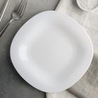 Тарелка десертная 19,5 см Carine Blanc