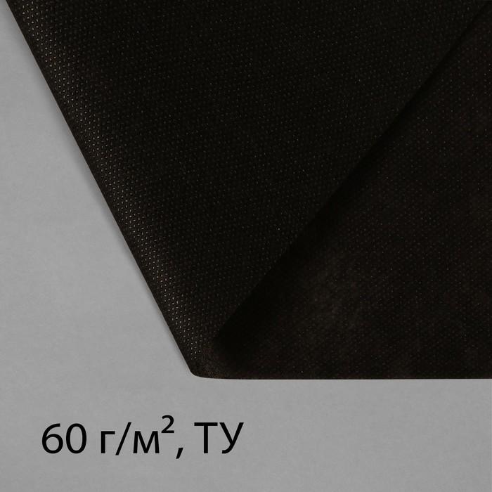 купить Материал мульчирующий, 10 1,6 м, плотность 60, с УФ-стабилизатором, чёрный, Greengo, Эконом 20