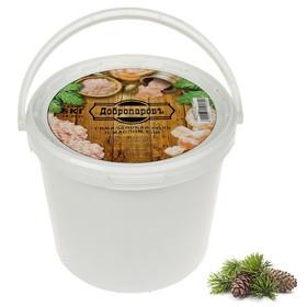 Гималайская розовая соль 'Добропаровъ' с маслом ели, галька, 50-120мм, 5 кг Ош
