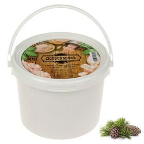 Гималайская розовая соль 'Добропаровъ' с маслом ели, галька, 50-120мм, 2 кг Ош