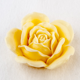 Силиконовая форма для мыла 'Роза свадебная' Ош