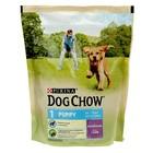 Сухой корм DOG CHOW для щенков, ягненок, 800 г