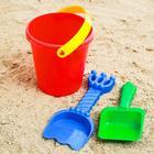 Набор для игры в песке №23, цвета МИКС - Фото 2