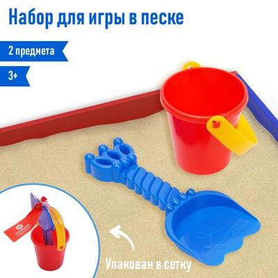 Песочный набор: ведёрко, лопатка, МИКС - Фото 1