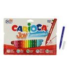 Фломастеры 24 цвета Carioca Joy 2.6мм, картонный конверт 40532/24