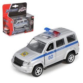 Машина металлическая «Полиция», масштаб 1:50, инерция