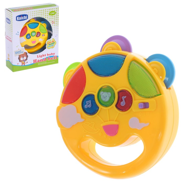 Музыкальная игрушка «Солнышко», световой и звуковой эффекты