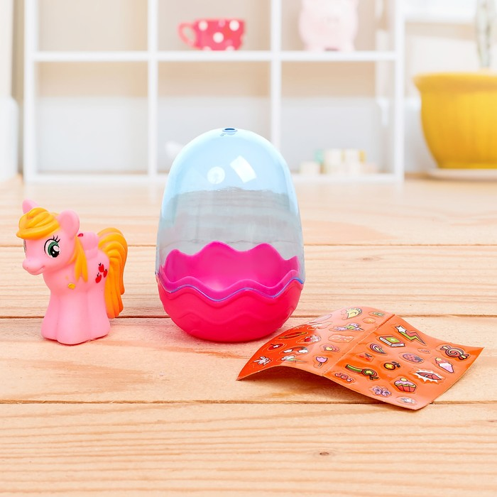 Пони в яйце с аксессуарами, МИКС