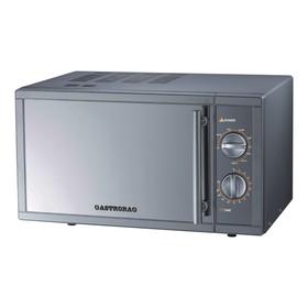 Микроволновая печь GASTRORAG WD90023SLB7, 1400 Вт, 23 л, гриль, 9 режимов, нерж.сталь