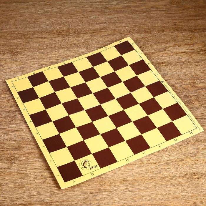 Шахматное поле из микрогофры, 40 40 см