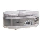 Йогуртница Redmond RYM-M5401, 50 Вт, 8 б, 180 мл, упр.:электрон., серебристый/белый