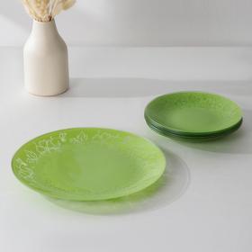 Сервиз столовый «Лара» на 6 персон: 6 тарелок d=20 см, 1 тарелка d=30 см
