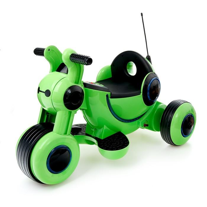 Электромотоцикл Y-MAXI, цвет зеленый