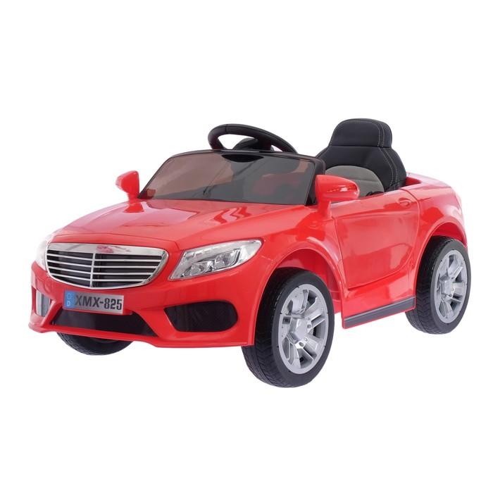 """Электромобиль """"S CLASS"""", 2 мотора, EVA колеса, активная подвеска, кож.сидение, цвет красный"""