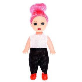 Куклы малышки «Сестрёнки», в костюмчиках, 3 штуки, МИКС Ош