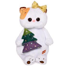 Мягкая игрушка «Кошечка Ли-Ли» с ёлочкой, 24 см