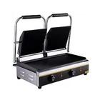 Гриль GASTRORAG NPL-EGD24E, электрический, настольный, двойной, 50-300°С, серебристый