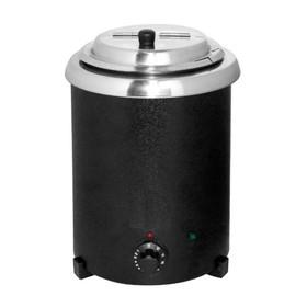 Мармит GASTRORAG SB-5700-AG, электрический, настольный, для супов, 5.7 л, 30-90 °С, чёрный