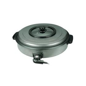 Сковорода GASTRORAG CPP-55A, электрическая, 1600 Вт, d=55 см, антипр. покрытие, серебристая Ош