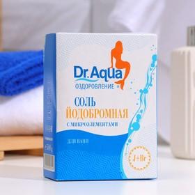 Соль морская Dr. Aqua природная Йодобромная в картонной коробке 500гр