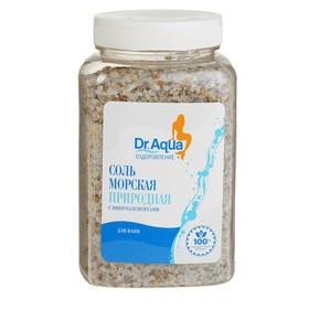Соль морская Dr. Aqua природная, 750 гр