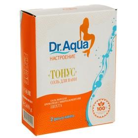 Соль морская Dr. Aqua ароматная  Пихта  «Тонус», 500 гр Ош
