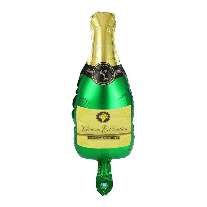 Шар фольгированный 9 Бутылка шампанского