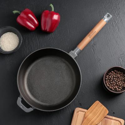 Сковорода 24 см, съёмная ручка - Фото 1