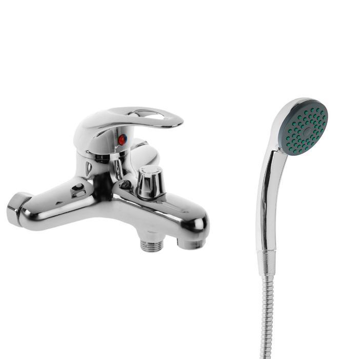 Cмеситель для ванны Accoona A6040, однорычажный, силумин, хром
