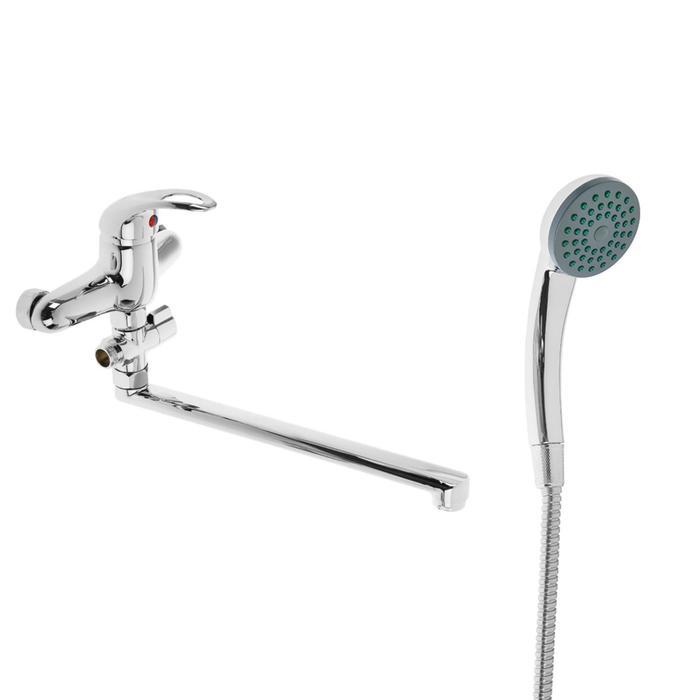 Cмеситель для ванны Accoona A7052, однорычажный, латунь, хром
