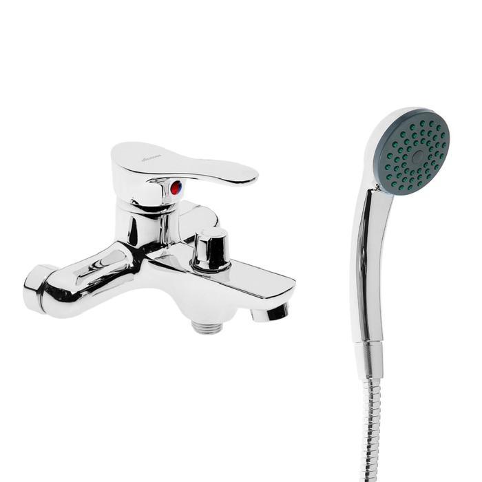 Cмеситель для ванны Accoona A6061, однорычажный, силумин, хром