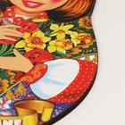 """Доска разделочная сувенирная """"Матрёшка"""", любимой маме, 14,9×23см - Фото 3"""