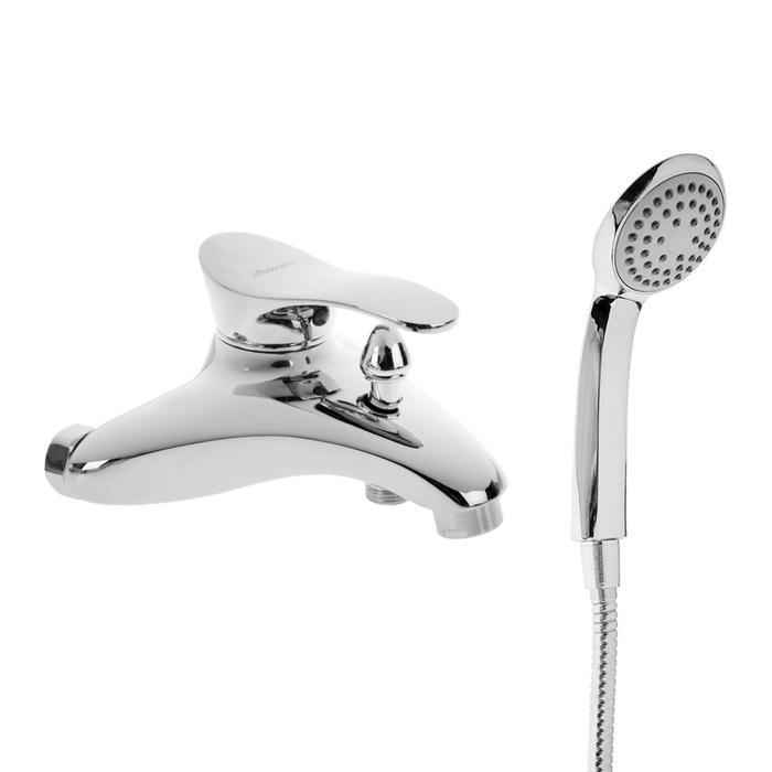 Cмеситель для ванны Accoona A6005, однорычажный, латунь, хром