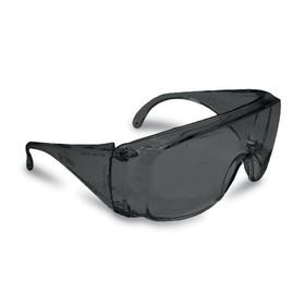Защитные очки TRUPER LEN-SN, поликарбонат, УФ защита, защита от царапин, черные