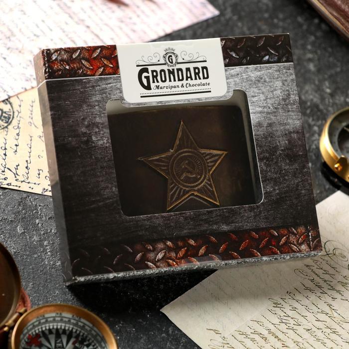 Бляха шоколадная 40 гр GRONDARD