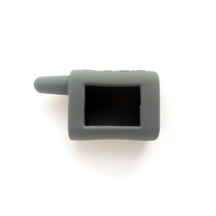 Чехол брелка, силиконовый Scher-Khan Magicar A, B серый