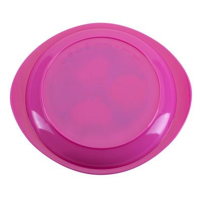 Тарелка детская, диаметр 18 см, для вторых блюд, от 4 мес., цвета МИКС - Фото 1