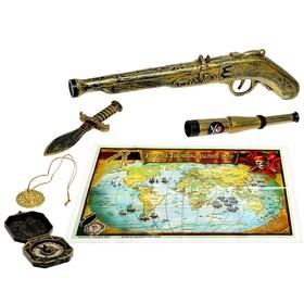 Набор пирата «Стрелок», 5 предметов, карта Ош