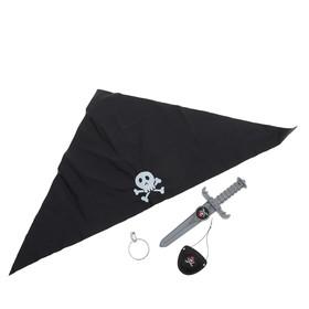 Набор пирата «Черная бандана», 4 предмета Ош