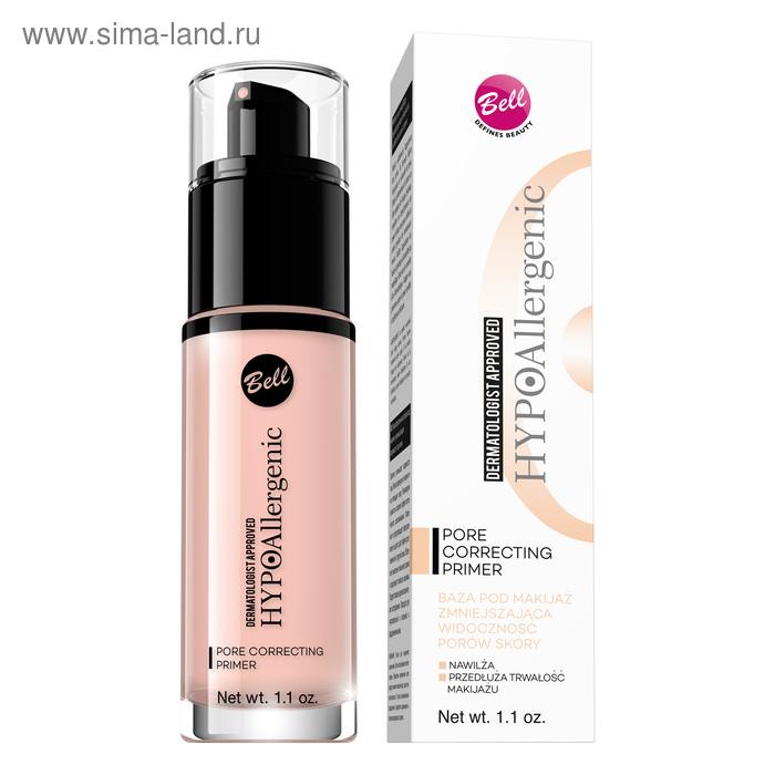 Основа под макияж Bell Hypoallergenic Pore Correcting Primer, уменьшающая видимость пор кожи, 30 мл