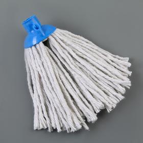 Насадка для швабры верёвочная, х/б, 100 гр, цвет МИКС