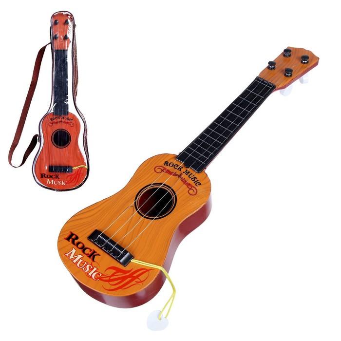 Детский музыкальный инструмент Гитара Классика, цвета МИКС