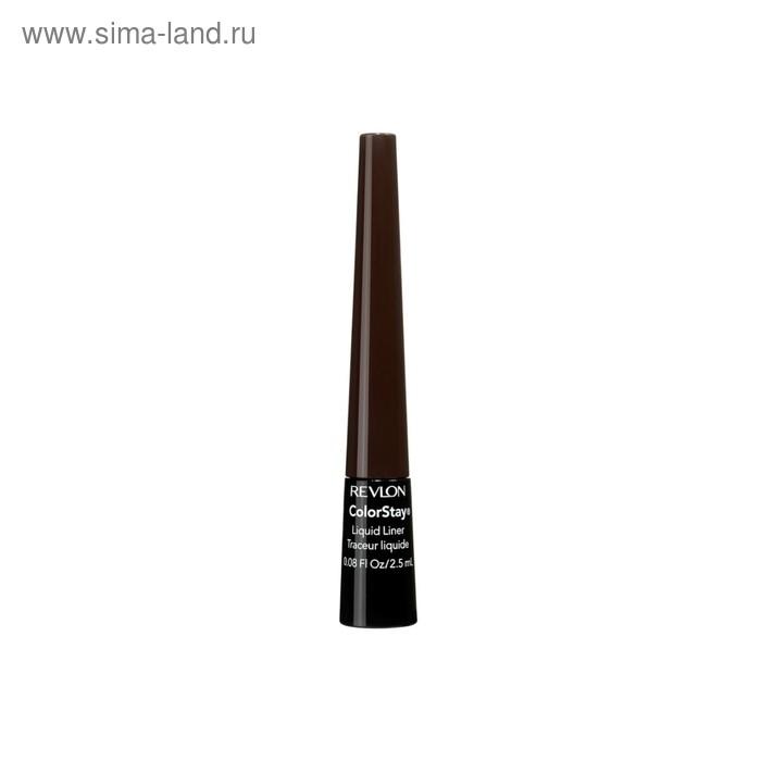 Жидкая подводка для глаз Revlon Colorstay Liquid Liner, тёмно-коричневый