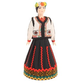 Сувенирная кукла 'Традиционный молдавский свадебный костюм' Ош
