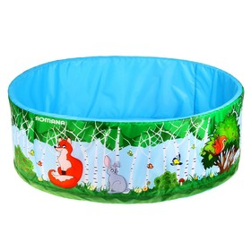 Сухой бассейн «Зверята» без шариков