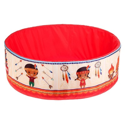 Сухой бассейн «Индейцы» без шариков